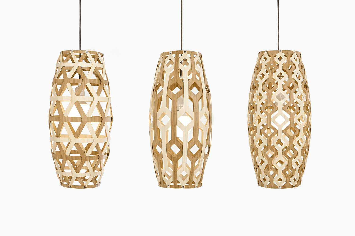 wooden lighting. South African Designer Jacques Cronje Combines Design, Digital Technology And A Love For Wood In Wooden Lighting E