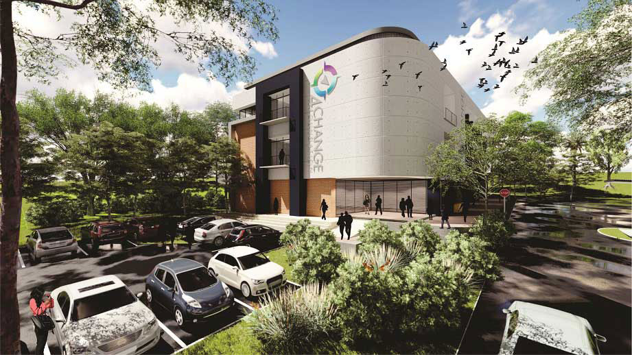 New facilities at the 4Change Foundation campus in Roodepoort, Johannesburg