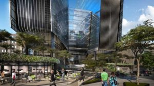 Plascon was the natural choice as coatings partner for 140 West Street Sandton