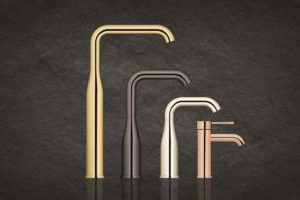 The expanded faucet range Essence by GROHE