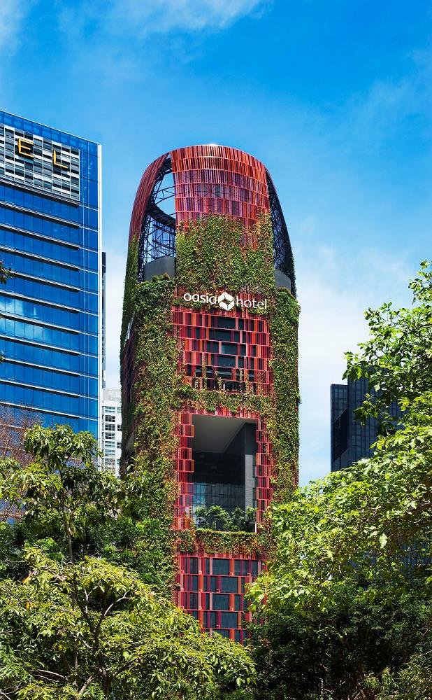 The visually-striking Oasia Hotel Downtown in Singapore was announced as winner of Best Tall Building Worldwide at the recent CTBUH Tall Building Awards held in Chicago.