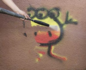 Sika's new permanent anti-graffiti and anti-fly poster coating