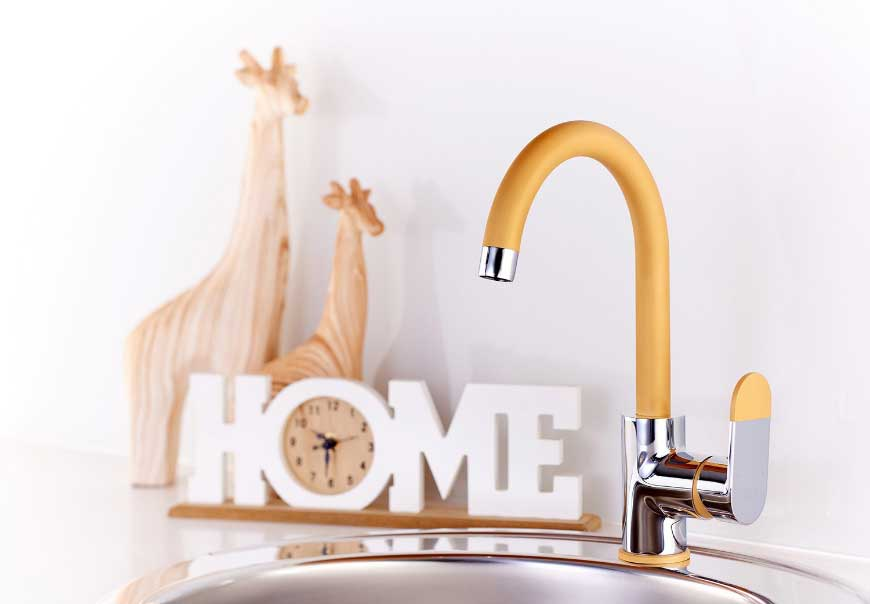 ISCA has launched an exciting new range of colourful taps designed to allow people to customise their bathroom and kitchen spaces.