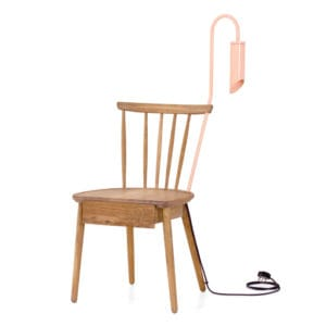 Houtlander, the furniture-design duo best known for their iconic chairs, has joined forces with local design sensation Dokter and Misses to create the 'One Night Stand', an irresistible piece of collectable design.