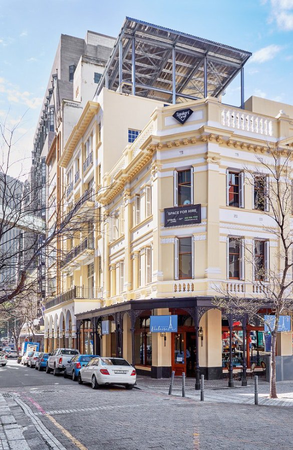 Speakers Corner, one of Cape Town's oldest buildings, has recently been sensitively restored by Urban Lime properties.