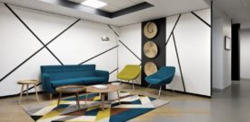 International companies are starting to incorporate eclectic vernacular elements that contextualise their office spaces to distinguish their regional offices from each other.