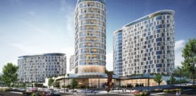 Ellipse Waterfall, a new residential development comprising four elliptical towers of differing heights, is the first high-rise luxury apartment development in the heart of Waterfall City, Gauteng.