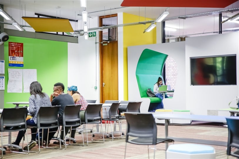 Architects Of Justice have created an Adaptive Learning Environment (ALE), the eZone, at Wits Education Campus, which offers a glimpse of what classrooms will look like in the future.