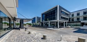The new Hilton Garden Inn Hotel in Gaborone, Botswana, was one of the first projects to utilize GEZE as a complete-package door and window solution partner.