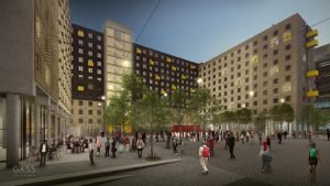 Leading architecture firm GASS Architecture Studios has revealed their design for the R1.2bn redevelopment of the Jewel City precinct in Johannesburg's CBD by Divercity Urban Property Fund Pty (Ltd).