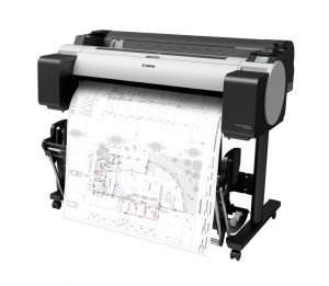 The Canon imagePROGRAF TM-300 is 60% quieter and can unobtrusively fit into any working environment.