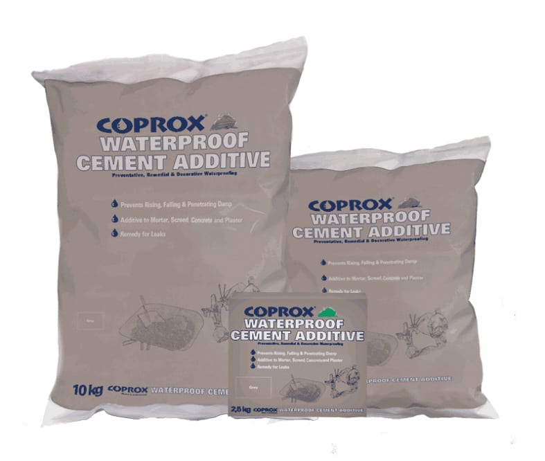 Coprox Waterproof Cement Additive Is An Essential