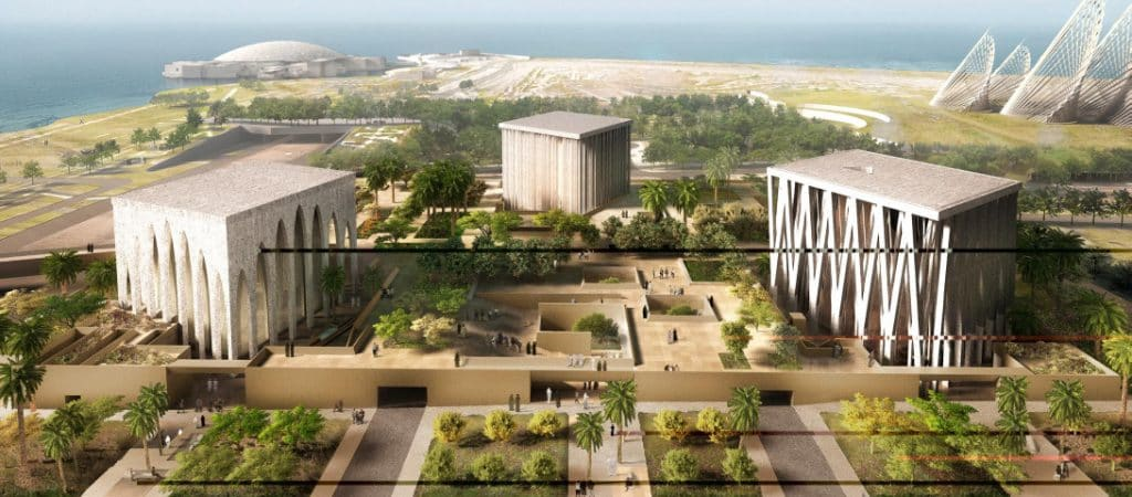 Adjaye Associates has been announced as the winner of the competition for The Abrahamic Family House on Saadiyat Island in Abu Dhabi.
