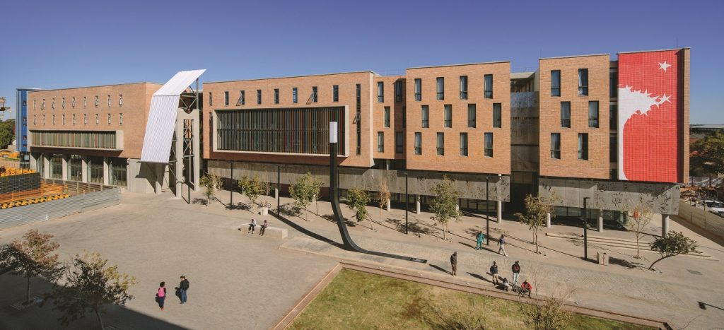 Sol Plaatje University, Kimberley, by Savage + Dodd Architects, was among the projects shortlisted for the recent 2019 International Urban Project Award held recently at the BAU Congress China in Shanghai.