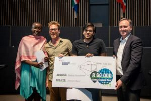 23-year old Hashim Tarmahomed, who is currently doing his Honours degree in Architecture Studies at Wits University, won the recent AfriSam Student Design Challenge.