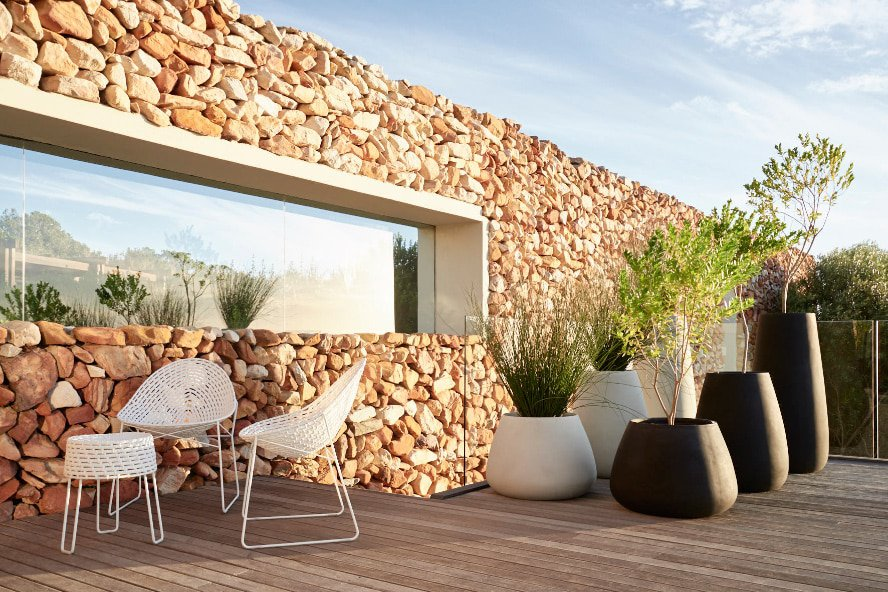 The new glass-reinforced concrete tuber planters from Indigenus, designed by Haldane Martin, re-imagine planters as art pieces. Prices start from R3950 plus VAT.