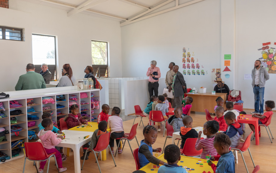 New architecture and building techniques used in the award-winning design for a day-care centre in Meloding Township, near Virginia, in the Free State, could revolutionise South African and other school environments.