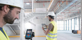 The new GLM 120 C Professional laser measure from Bosch makes the measurement of lengths, areas, volumes and inclines even easier and more efficient thanks to its integrated camera.