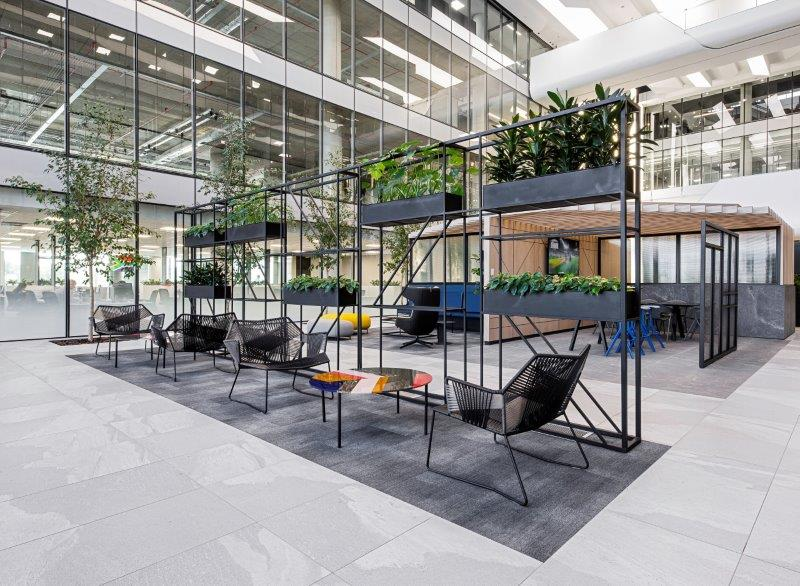 Interior architecture company Paragon Interface has completed its fit-out for Bidvest Bank Towers at 1 Park Lane in Sandton.
