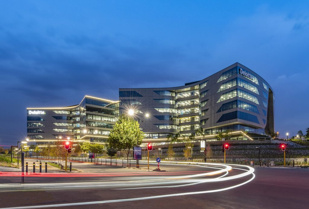 As Deloitte SA resumes occupancy of its new African headquarters, workspace flexibility proves especially relevant as workplaces institute of social distancing protocols
