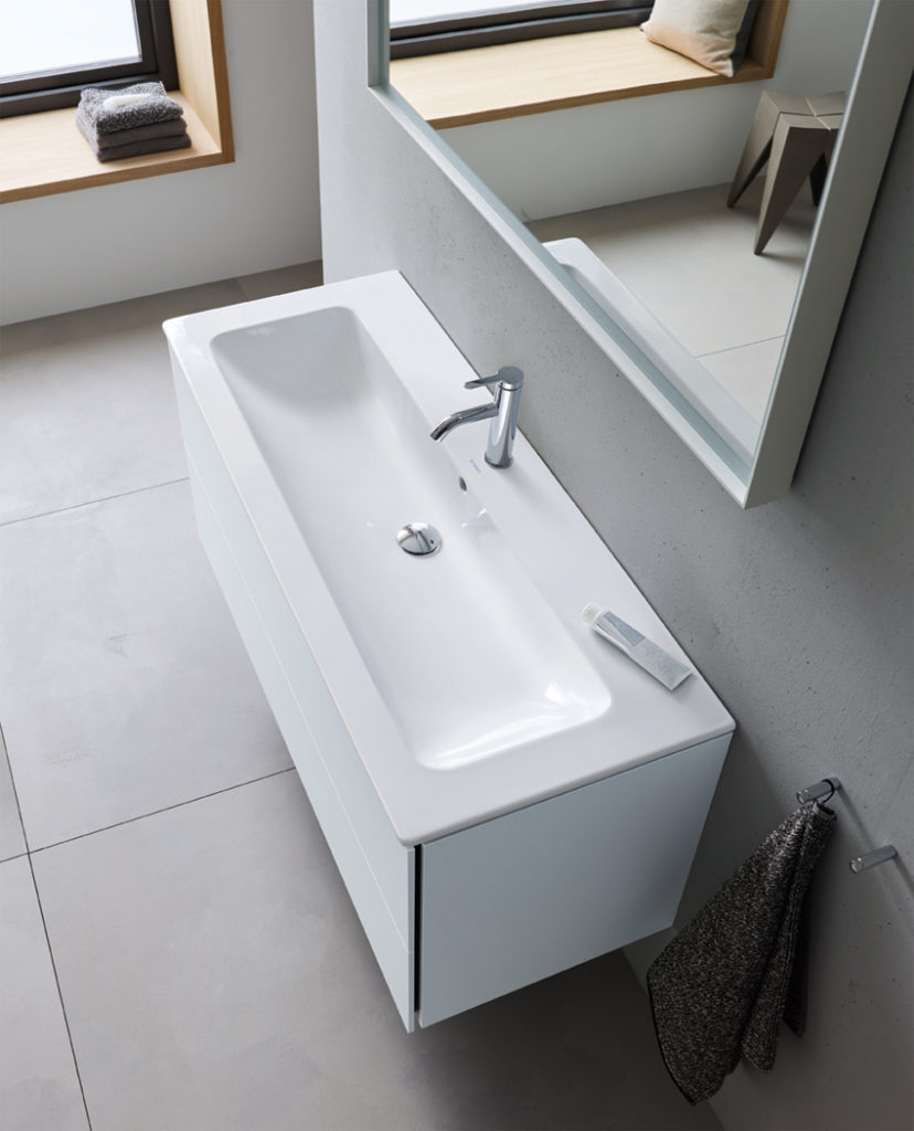 Philippe Starck's new ME by Starck range for Duravit satisfies the desire for pure aesthetics while achieving the greatest possible range of individual design possibilities.
