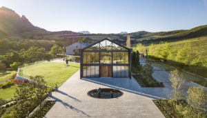 Family-owned Stellenbosch wine estate Quoin Rock has been transformed into a masterful architectural undertaking by architect Julia Gaiduk.