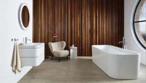 Duravit presents two new custom washing-area variants for the Happy D.2 Plus series by sieger design.