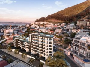 A rare military relic was unearthed on the site of Alpha One, a six-story boutique development on the slopes of Signal Hill in Cape Town.