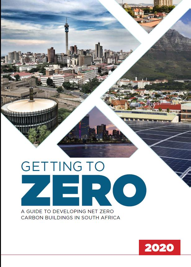 A guide to developing net zero carbon buildings in South Africa is freely available and can be downloaded here