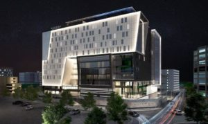 Take a look at the design for Pullman Accra Airport City in Accra, Ghana, the largest project designed by Paragon Architects and under construction at present.