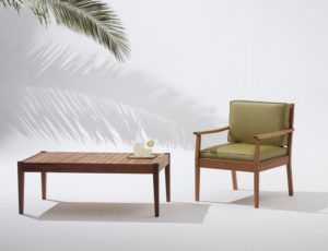 Woodbender's new range of solid timber outdoor furniture arrives just in time for summer.