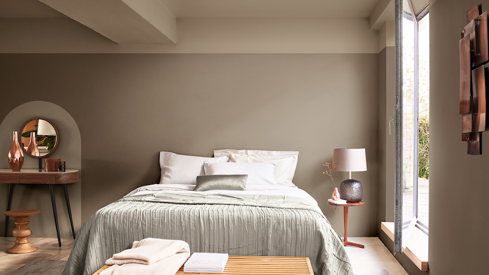 Dulux Colour FuturesTM 2021has named Brave Ground, a warm, earthy and empowering neutral as its Colour of the Year.