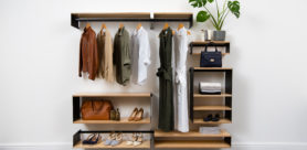The Modular Shelving System from TimHarris Design lets you create configurations that best suit your space, style and needs.