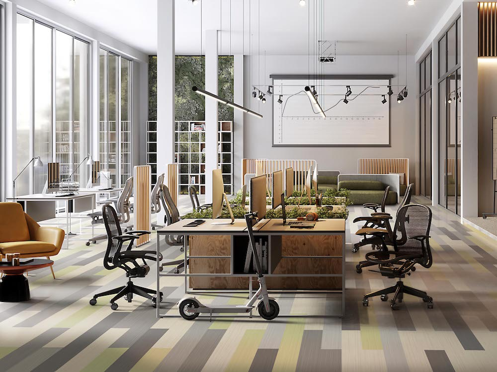 KBAC Flooring has brought Noraplan Linee, a new flexible rubber flooring collection, into South Africa.