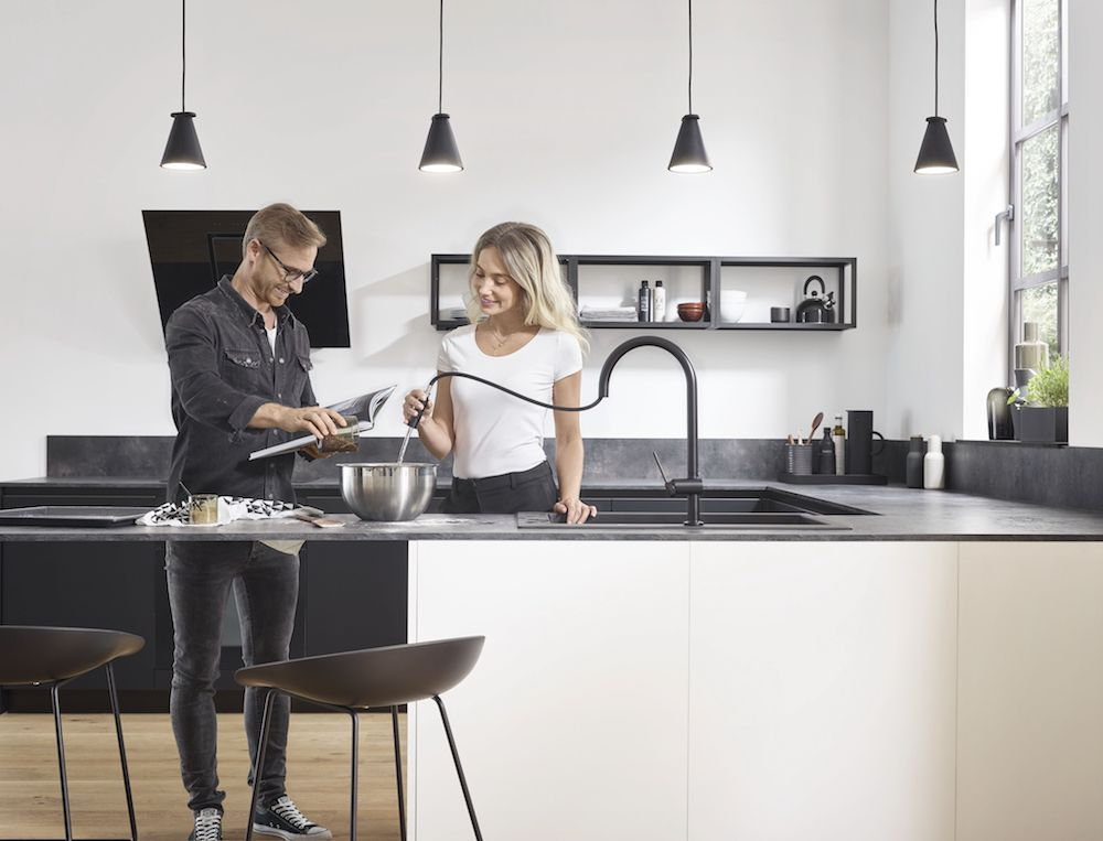 Hansgrohe's Talis M54 is the best compliment for your kitchen.