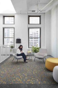 KBAC Flooring supplies and installs latest carpet tile collection from Interface, NY+LON Streets, inspired by the iconic cities of New York and London.