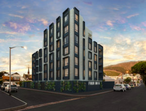 FOUR ON O in heart of Sea Point is first new-build project for Paragon Architects in Cape Town.