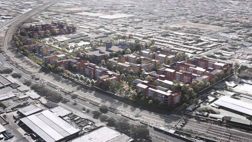 Boogertman + Partners to be the architects of the R1.6 billion Long Street Social Housing project in Jeppestown, Johannesburg, to address the lack of affordable housing in the city.