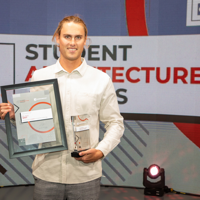 The winners of the 2019 & 2020 Corobrik Student Architecture Awards were announced at a first-ever hybrid event hosted by the company in Johannesburg earlier this month.