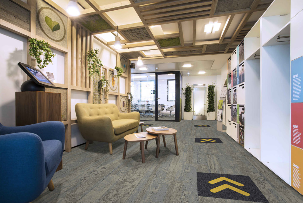 """KBAC Flooring CEO Brandon Park believes designers of flooring products as well as corporate interior specifiers will rise to the challenge of using healthy and """"directional"""" flooring creatively."""