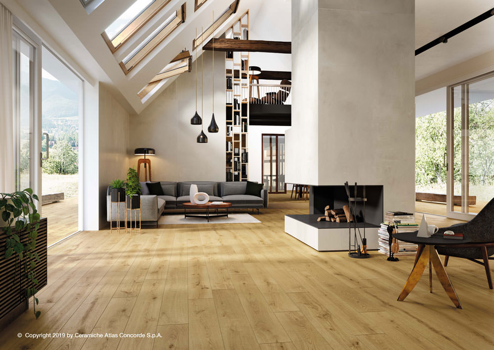 Italtile has unpacked arguably its finest example of remastered natural wood yet, the new, sustainable Exence porcelain tile range.