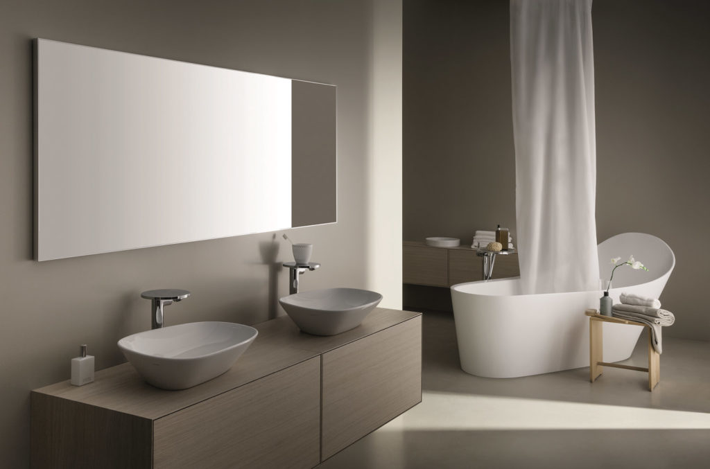 Italtile is excited to introduce its newest Swiss Laufen Sanware collection, The Palomba Range, by the famous Italian designers Ludovica and Roberto Palomba.