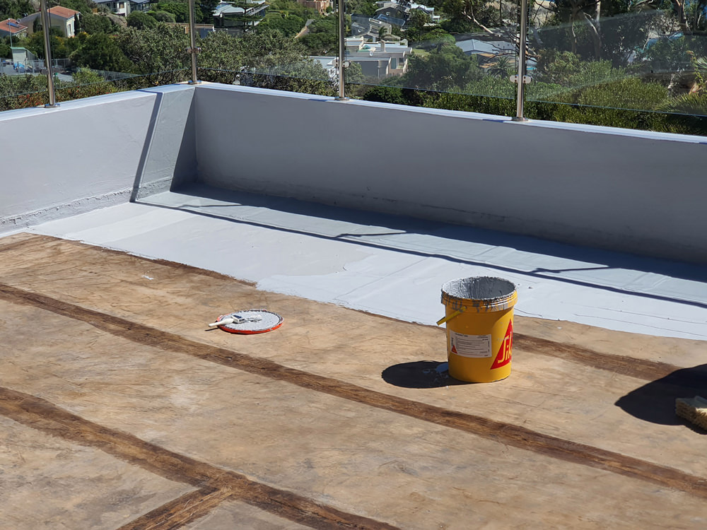 Sika's premium waterproofing system, Sikalastic®-560, proved to be a great success on a weeklong refurbishment project in Llandudno, Western Cape.
