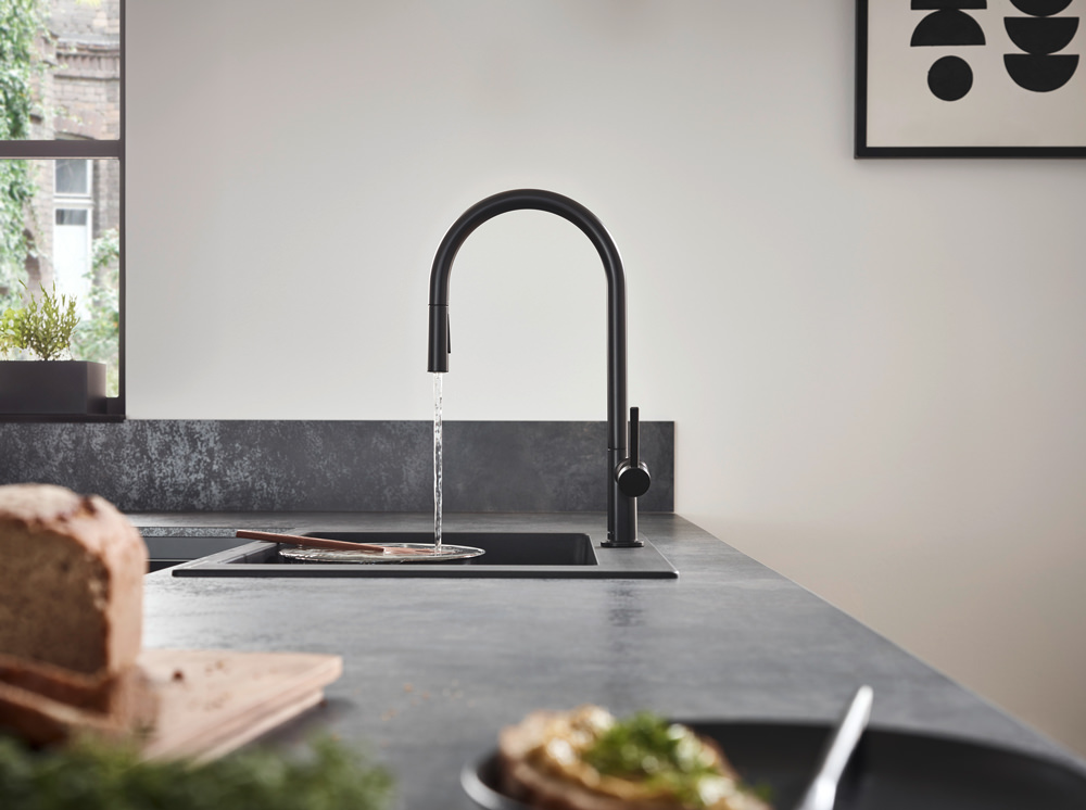 hansgrohe's Talis M54 brings a touch of love to your kitchen