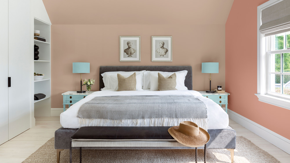 Don't forget that surface preparation and the choice of paint when it is time to decorate.